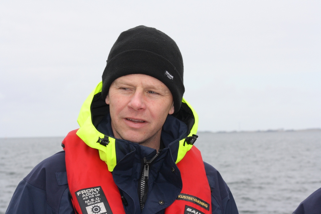 Jonas Holmstrand, Swedish Coast Guard
